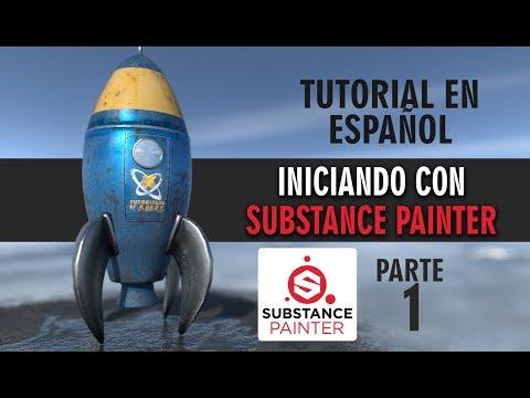 Iniciando con Substance Painter ::: Parte 1 (видео)