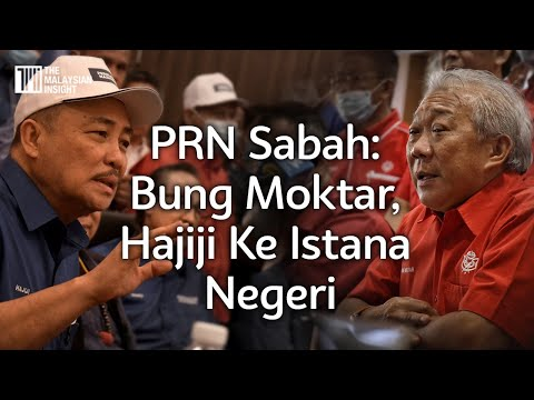 PRN Sabah: Bung Moktar, Hajiji ke Istana Negeri