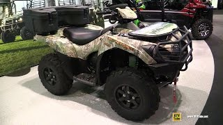 9. 2016 Kawasaki Brute Force 750 4x4i EPS Camo Recreational ATV - Walkaround - 2015 AIMExpo Orlando