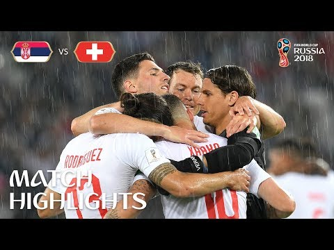Serbia V Switzerland - 2018 FIFA World Cup Russia™ - Match 26