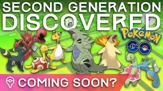 SECOND GENERATION POKÉMON DISCOVERED IN POKÉMON GO GAME CODE! by Trainer Tips