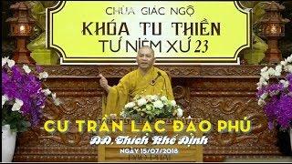 Cư Trần Lạc Đạo Phú - ĐĐ. Thích Khế Định