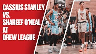 Shareef O'Neal and Cassius Stanley's Teams Go Head-to-Head at the Drew - Full Highlights by Bleacher Report