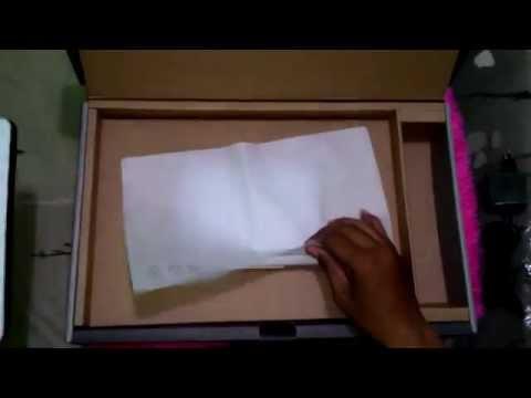 Asus x453 unboxing