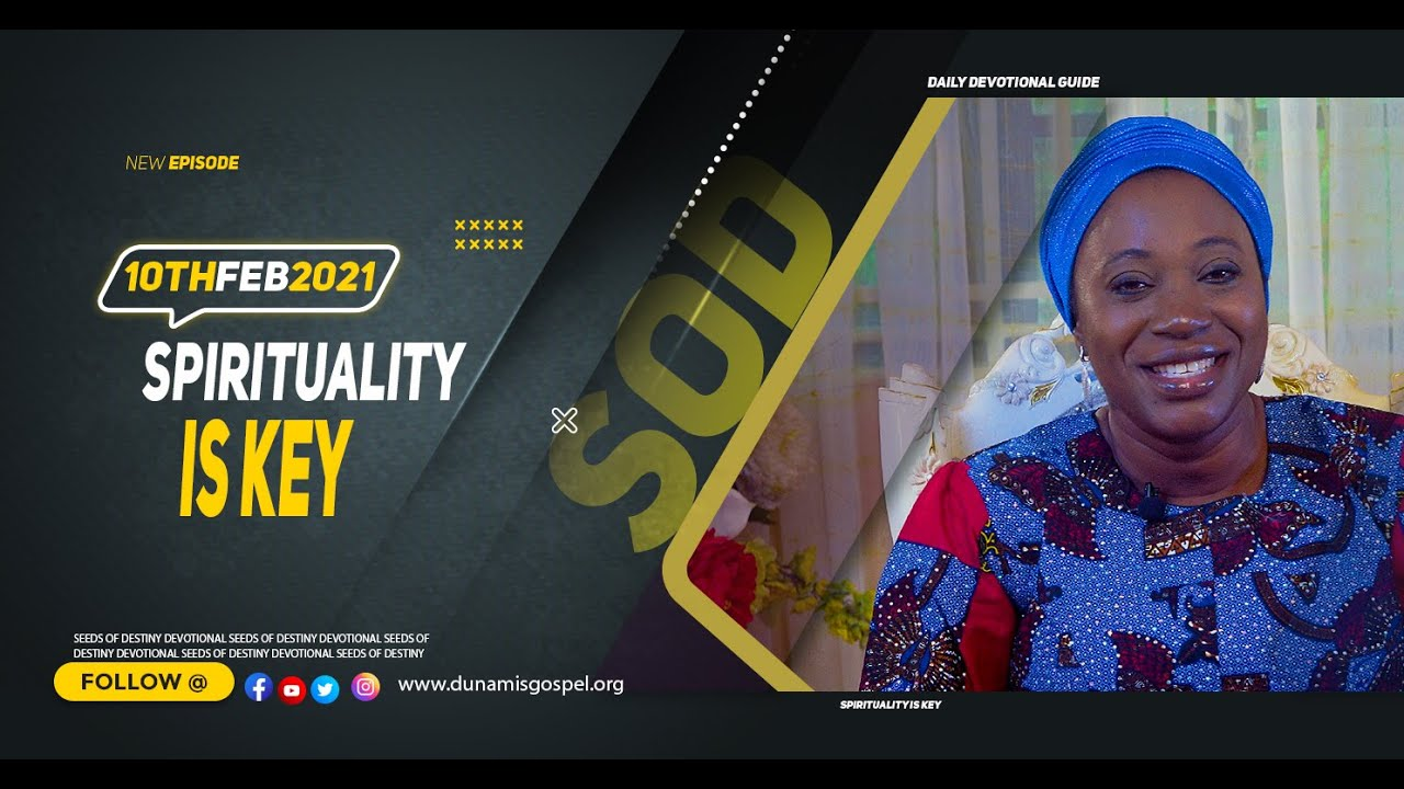 Seeds of Destiny 10th February 2021 by Dr Becky Paul-Enenche