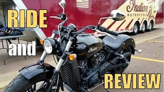 6. Indian Scout Sixty | First Ride and Review