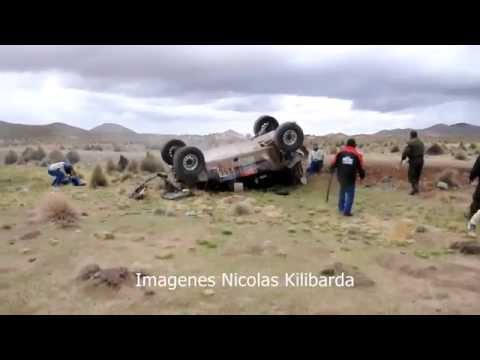 Aficionado documenta en video un accidente en el Rally Dakar 2015