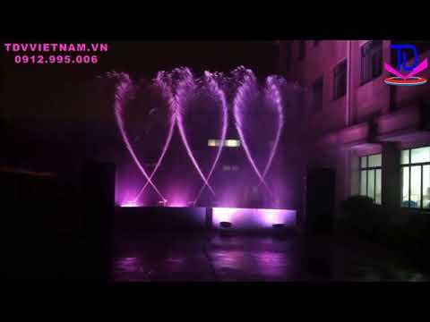 Vòi Phun 2D - Vòi Phun 3D Tạo Hiệu Ứng Múa Vẫy Lắp Đặt Cho Nhạc Nước