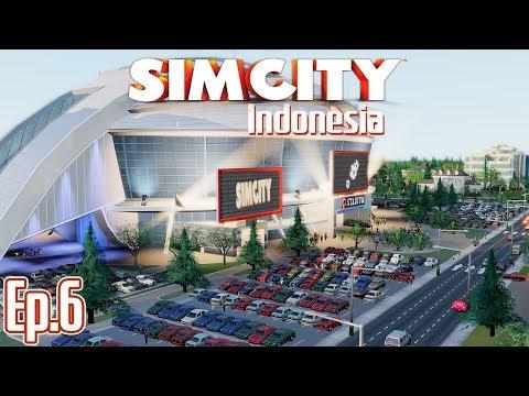 PRO STADIUM DAN METAL HQ - SimCity 5 Indonesia | Season 2 - Ep.6