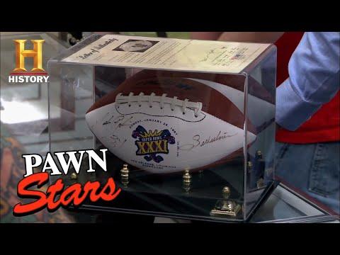 Pawn Stars: Walter Payton Signed Football (Season 9) | History