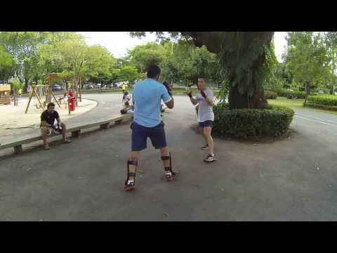 Self defense/pressure points/boxe de rue – Recife – Brazil 2013