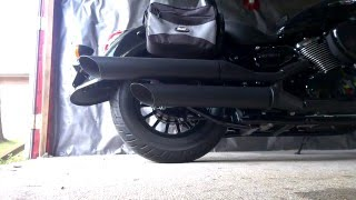 10. 2014 Suzuki Boulevard C50 BOSS (de-baffling) with stock exhaust 1 of 3