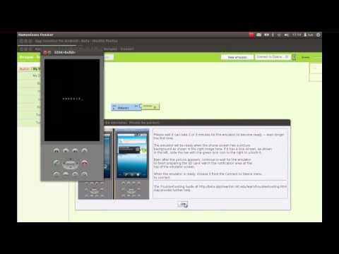 Eine eigene Android App mit App Inventor entwickeln und installieren