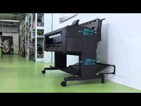 Prezentare video HP Designjet T1500