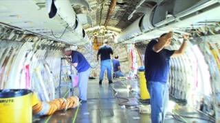 Aircraft maintenance: A big business ran by a majority of small businesses