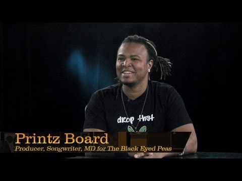 Printz Board, Producer and Musical Director for The Black Eyed Peas – Pensado's Place #103