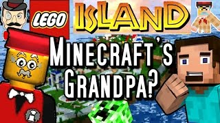 MINECRAFT'S GRANDPA? Lego Island - Life Before Minecraft!