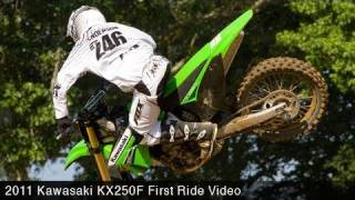 2. MotoUSA 2011 Kawasaki KX250F First Ride