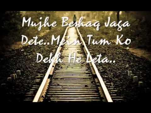 Kaha Tha Na Yun Chor Ke Na Jana -Urdu sad poetry