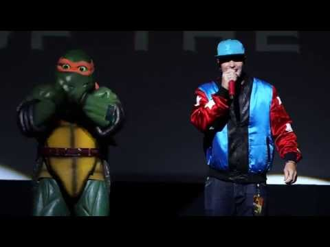 Go Ninja Go (Live) [OST by Vanilla Ice]