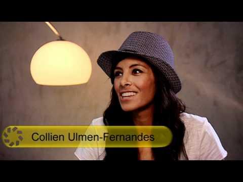 Collien Ulmen-Fernandes beim Fotoshooting