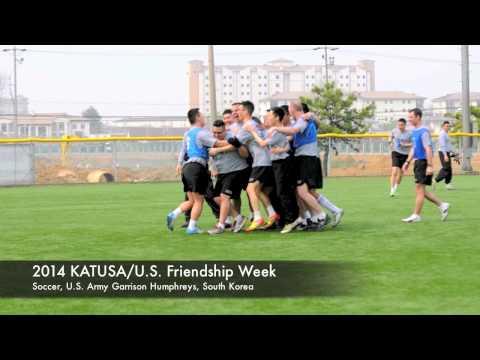 IN FOCUS – 2014 KATUSA Friendship Week – Soccer – Camp Humphreys – 15-16 April 2014