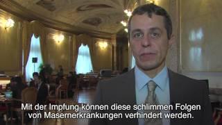 Komitee für eine Schweiz ohne Masern: Dr. med. Ignazio Cassis