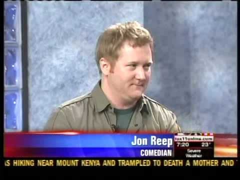 Jon Reep live in the studio