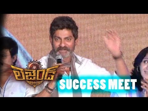 Jagapathi Babu Speech  Legend Successmeet