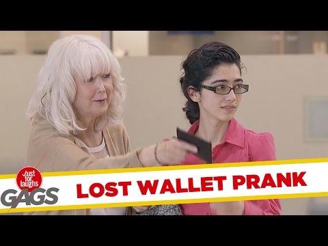 Poanta cu portofelul (video)