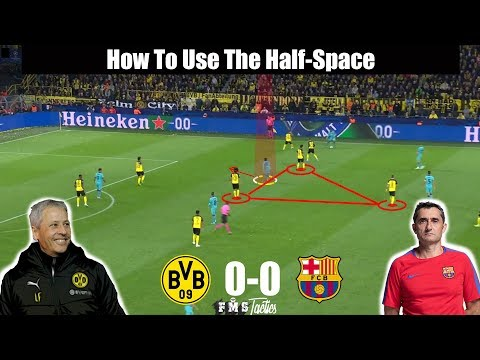Tactical Analysis: Dortmund 0-0 Barcelona | Favre vs Valverde | Champions League Borrusia vs Barca