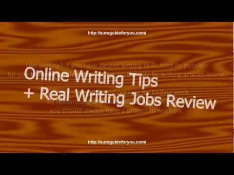 Make Money Online Writing + Real Writing Jobs Review