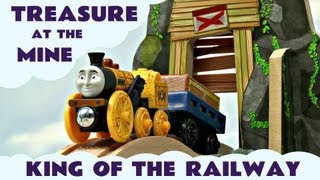 King Of The Railway Thomas & Friends Treasure At The Mine Set Kids Toy Train Set Thomas The Tank