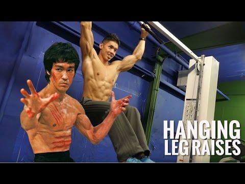 練出李小龍的8舊腹肌的workout