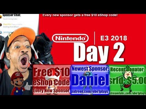 Nintendo E3 2018 Day 2
