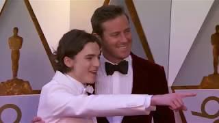 Video Oscars 2018 Arrivals: Timothée Chalamet and Armie Hammer MP3, 3GP, MP4, WEBM, AVI, FLV Desember 2018