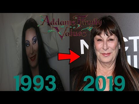 Addams Family Values (1993) Cast: Then And Now ★2019★