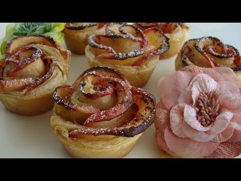 rose di mele - video ricetta