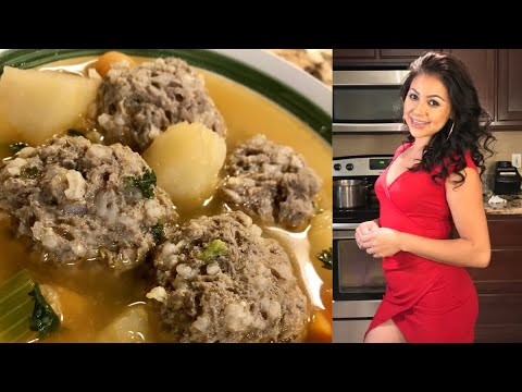 Cooking With Me: How To Make The Best Albóndigas (Mexican Meatball Soup)