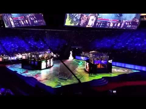 Dota 2: Choáng với sân khấu cực hoành tráng của The International 5