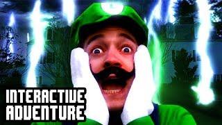 Luigi's Mansion Interactive Adventure Game!