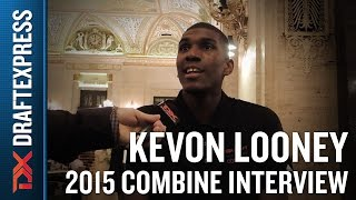 Kevon Looney 2015 NBA Draft Combine Interview