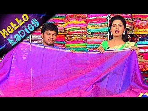 All-Varieties-Of-Kuppadam-Silk-and-Ikkat-Pattu-Sarees-Hello-Ladies-Vanitha-TV