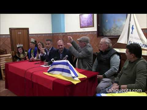 Entrega del Premio W. Ríos a Juan J. Columé Millán en los Carnavales de Isla Cristina 2020