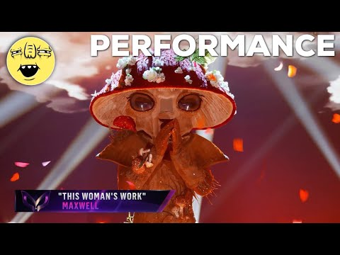 """Mushroom performs """"This Woman's Work"""" by Maxwell 