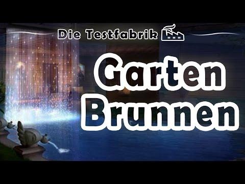 ⛲ Gartenbrunnen Test – 🏆 Top 3 Gartenbrunnen im Test