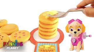 Video Learning Colors Videos for Kids: Paw Patrol Chase & Skye Play Stack Pancake Pile Up Challenge Game MP3, 3GP, MP4, WEBM, AVI, FLV Juni 2017