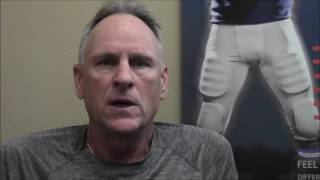Mark tells how chiropractic, and most recently, Deep Tissue Laser Therapy keeps him functioning in spite of the serious injuries he has suffered playing foot...