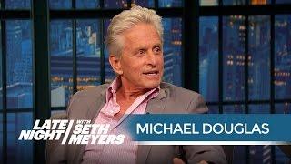 Video Michael Douglas Is Jealous of His Ant-Man Co-Star Paul Rudd - Late Night with Seth Meyers MP3, 3GP, MP4, WEBM, AVI, FLV Juli 2018