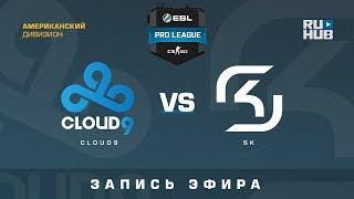 Cloud9 vs SK - ESL Pro League S7 NA - de_train [Godmint, SleepSomeWhile]